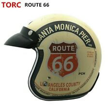 TORC Motorcycle Helmet Vintage Open Face Retro