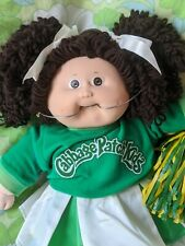 Cabbage Patch Popcorn Brown Hair Brown Eyes 1987 Cheerleader With Htf Braces Kt