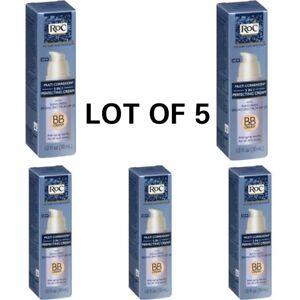 LOT 5 RoC Multi Correxion 5 in 1 Perfecting BB Cream SPF 25  Discontinued