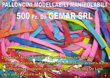 PALLONCINI MODELLABILI MANIPOLABILI FESTE BABY 500 Pz PARTY FESTE ANIMAZIONE