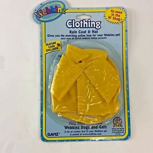 Webkinz Ganz Clothing Rain Coat and Hat Fits Most Dogs and Cats