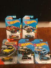 Hot Wheels - Lot of 5 Cars - Honda Racer 85 city turbo2 76 cvcc