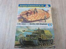 2 Panzer-Modellbausätze 1/72