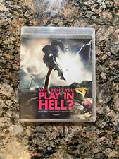 Why Don't You Play in Hell (Blu-ray 2015) Like New With poster and booklet