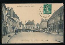 France Haute-Saone GRAY Place de l'Hotel de Ville c1900s? PPC