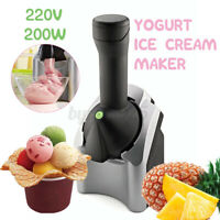 Electric Ice Cream Machine Classic Original Healthy Dessert Fruit Serve Maker
