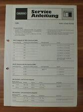 Dispositivo musicale sono-clock 50 60 Grundig Service Manual Istruzioni di servizio