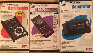 Atlas Master DCC System Commander, Generator, Controller, Throttle, Xpress Net