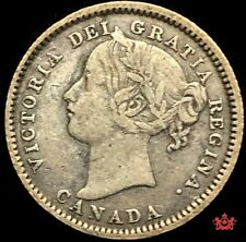1898 Canada 10 Cents OBV6 - VF - Lot#1548P