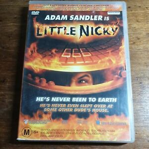 Little Nicky DVD R4 LIKE NEW FREE POST