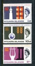 1966 Pitcairn Island U.N.E.S.C.O 20th Anniversary Muh