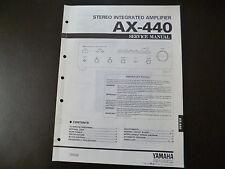 Original Service Manual  Yamaha AX-440