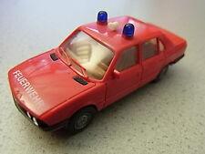 Herpa BMW 528i Feuerwehr Einsatzleiter aus Sammlungsauflösung Herpa Verpackung