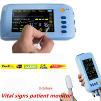 Touch Medical patient Monitor Cardiac Monitor Machine ECG, NIBP, SPO2, PR TEMP