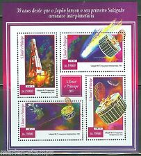 Sao Tome 2015 30th Anniversary Of Japan'S Sakigake Satellite Sheet Mint Nh