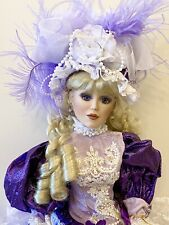Beautiful Victorian Porcelain Doll-Limited Ed.Collectible Porcelain Dolls-New