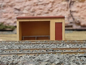 Victorian Rail Shelter shed Kit HO scale 1:87