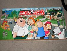 MONOPOLY THE FAMILY GUY COLLECTOR'S EDITION COMPLETE PEWTER TOKENS USED