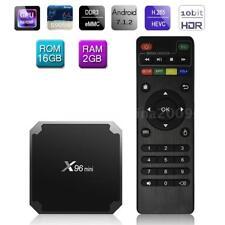 X96MINI Android 7.1.2 Smart TV Box S905W 2G+16G Quad Core H.265 HD Mini PC V9O0