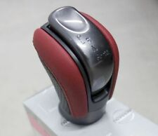 NISMO GT-R GTR R35 SHIFTER SHIFT LEVER KNOB RED BLACK LEATHER OEM 34910-80B0A