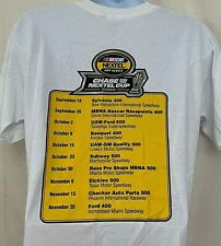 NASCAR Nextel Chase For Cup Mens Short Sleeve Shirt 2005 Series Sprint Size L