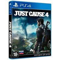*NEW* Just Cause 4 (PS4, 2018) English,Russian,Arabic,Polish