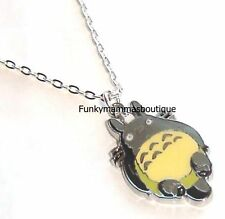 My NeiGHBoUR ToToRo PeNDaNT CHaRM NeCKLaCe STuDiO GHiBLi ANiMe SiLVeR PLaTeD 18""