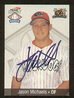 Jason Michaels signed autograph Team Best Trading Card