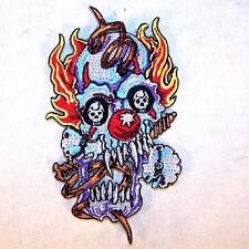 SPRING UP CLOWN EMBROIDERED PATCH P593 iron on sew biker JACKET patches CLOWNS