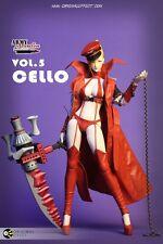 Original Effect Ejército atractivo vol.5 Cello 1/6 Figura de acción