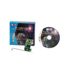 HiRO H50218 1000 PCI Express PCIe PCI-E 1X Gigabit Ethernet Card Win 10 8.1 8 7