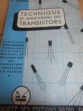 catalogue radio - TSF - transistor ( ref 4 )