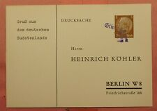 DR WHO 1930S GERMANY SUDETENLAND PC  147814