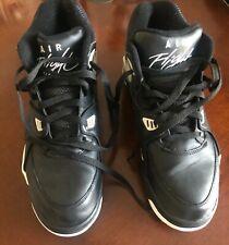 2012 Nike Air Flight '89 Black/Zen Grey/Cool Grey Size 10 306252 010