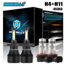 4 Side Combo H4 9003+ H11 H8 LED Headlight+Fog Light for Toyota Tacoma 2012-15