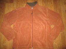 Mens COLUMBIA full zip fleece jacket sz XL