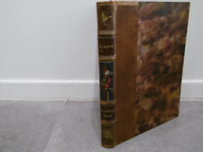 Ancien livre buffon choisi de Benjamin Rabier édition librairie Garnier 1924