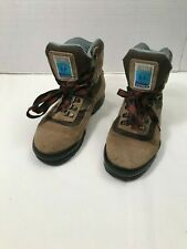 Tecnica Trekking Tuscany Leather Hiking Boots Men's 7.5 Gore-Tex Brown Suede