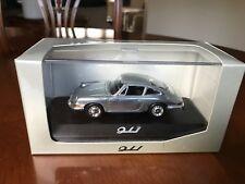 Rare Porsche Dealer 911 Coupe from 1964 In Chrome. Minichamps 1/43 Diecast