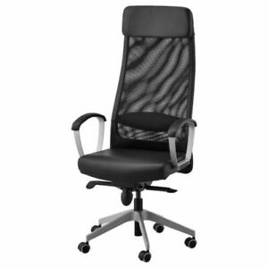 Ikea Markus Swivel Chair Glose Robust Black 001.031.02 - NEW IN BOX