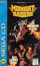 Midnight Raiders RARE Action Game For Sega CD System 1994 COMPLETE