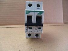 New Klockner Moeller Faz-2-C6 6 Amp 2 pole Circuit Breaker Voltage rating 415