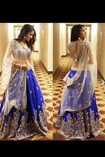 Pakistani Indian Ethnic designer Bridal Traditional lengha.Original pic included
