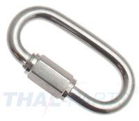 Kettenverbinder Kettennotglied Edelstahl 6-12mm Kette Kettenglied Notverbinder