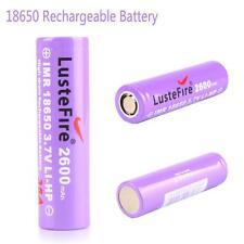 Great LusteFire IMR 18650 3.7V 2600mAh Lithium Battery 35A Rechargeable