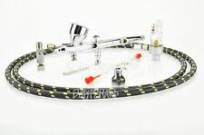 Veda 180R Kit Completo Aerógrafo Cepillo de aire modelo de cuerpo Pulverizador de pistola herramienta de pintura de uñas