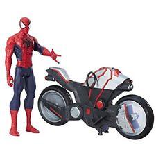 Hasbro Spiderman Titan Hero con Veicolo - Action Figures