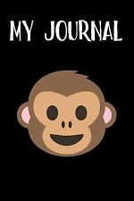 My Journal : Monkey Emoji Journal - Blank Lined Notebook - 6X9 by Simple...