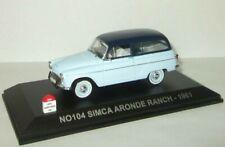 1:43 Simca Aronde Ranch 1961 1/43 • NOSTALGIE NO104