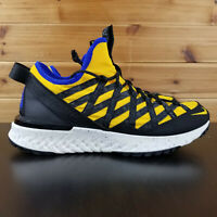 Nike ACG React Terra Gobe Yellow Black Mens Outdoors Shoes BV6344-700